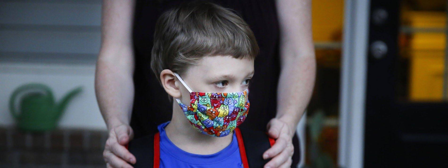 Kinder in aller Wert: Auch im amerikanischen Bundesstaat Georgia müssen Kinder im Schulbus Masken tragen